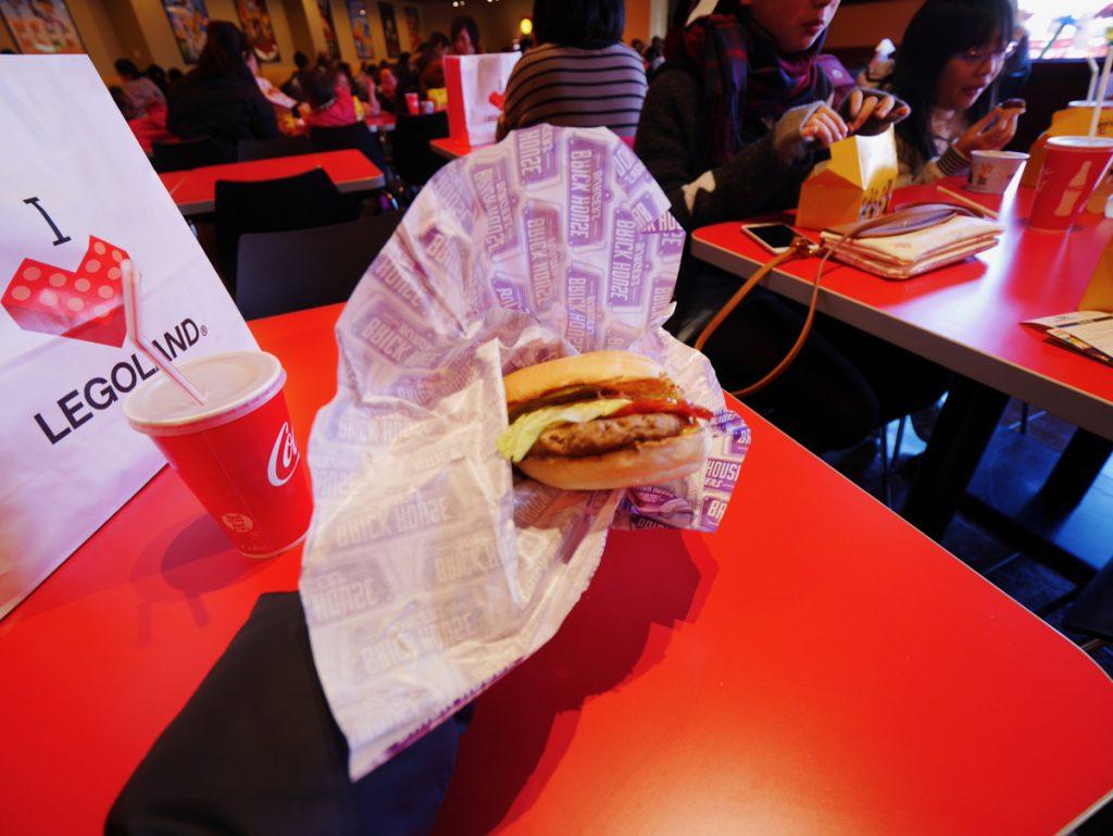 レゴランド Brick House Burgers(ブリック・ハウス・バーガー)